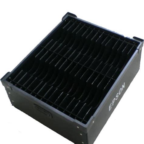 ESD Corrugated Box / Anti Static Hollow Tray Container for