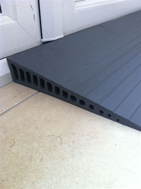 Threshold Ramps that solve minor obstacles