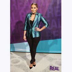 """Adrienne Bailon """"The Real""""   bras n clothes in 2019"""