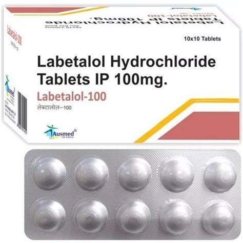 Labetalol Hydrochloride Tablet at Best Price in India
