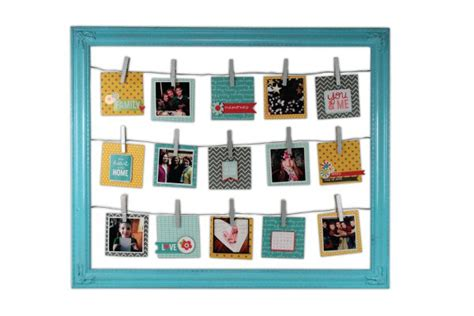 Live In The Moment Open Frame | Crafts Direct