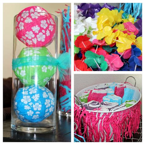 Luau Party Ideas • The Naptime Reviewer