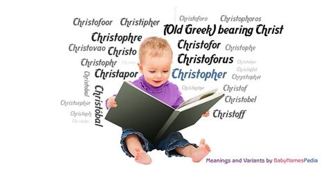 Christopher - Meaning of Christopher, What does