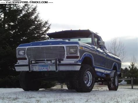 1978 Ford F150 4x4-My 78 ford