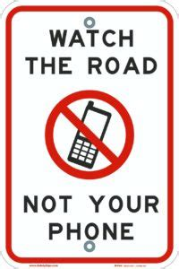Stop Texting and Driving Signs - Safety Sign News
