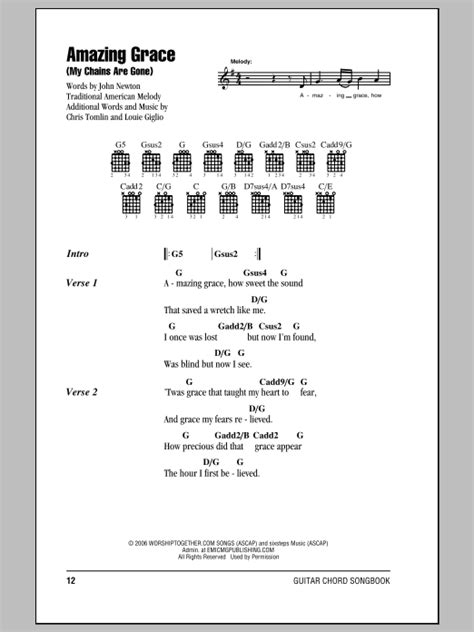 Amazing Grace (My Chains Are Gone) | Sheet Music Direct