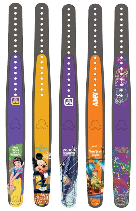 New designs available at Disney's MagicBand on Demand stations
