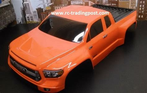 Toyota Tundra TRD Pro Custom Painted 1/10 RC Short Course