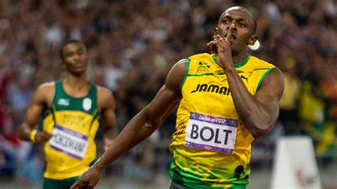Usain Bolt Wins 200m, Then Gets Taken out by a Segway