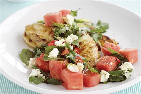 Gordon Ramsay's Griddled Chicken with Chickpeas, Feta
