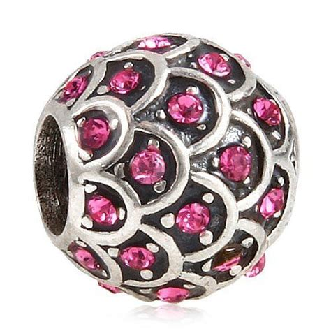 Sparkling Fish Scale Birthstone January February March
