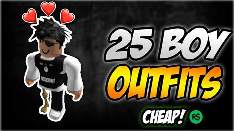 TOP 25+ COOLEST ROBLOX BOY OUTFITS 🔥😱 (FAN EDITION) *2020