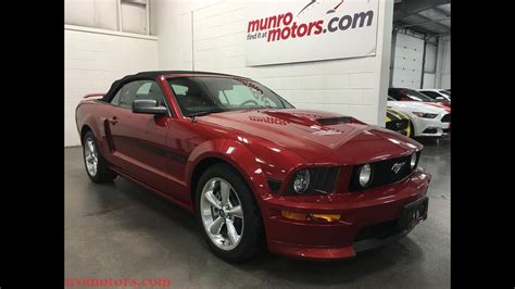 2009 Ford Mustang GT SOLD California Special Convertible