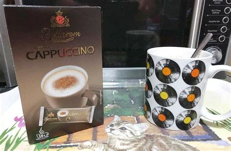 Smell the tea and coffee: Lidl Bellarom Instant Cappuccino