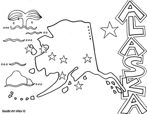 United States Coloring Pages - Classroom Doodles