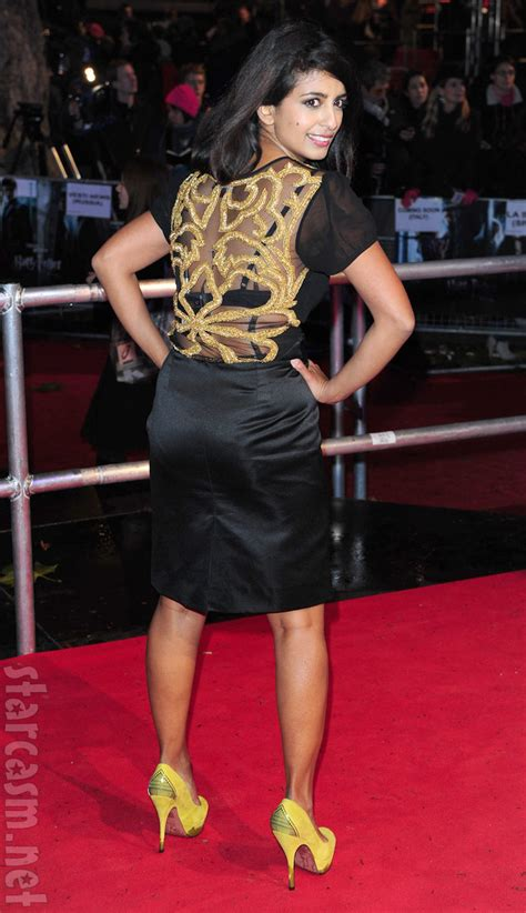 Worst red carpet pose ever? Konnie Huq at Harry Potter and