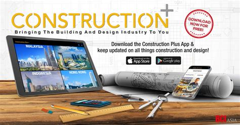 Have you downloaded our FREE Construction+ App? - BCI ASIA