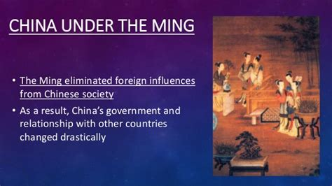 The Yuan and Ming dynasties
