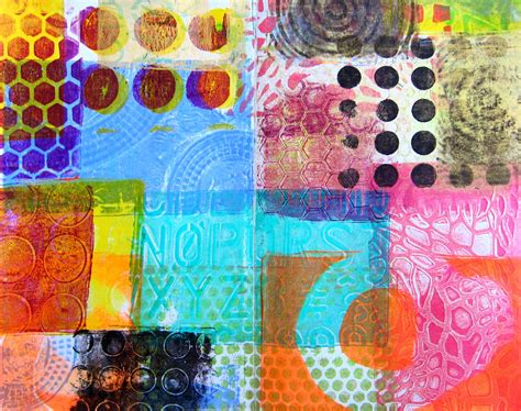 Printing with Gelli Plates - Red Ted Art's Blog