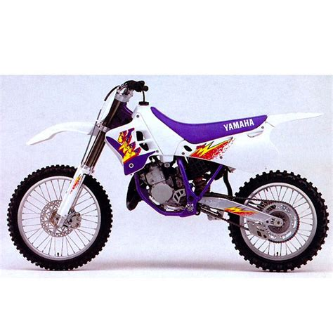 Yamaha 125 YZ 1994 - Spécifications Suspensions