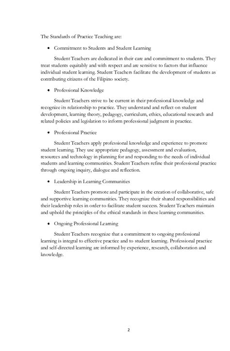 A narrative report on teaching experiences