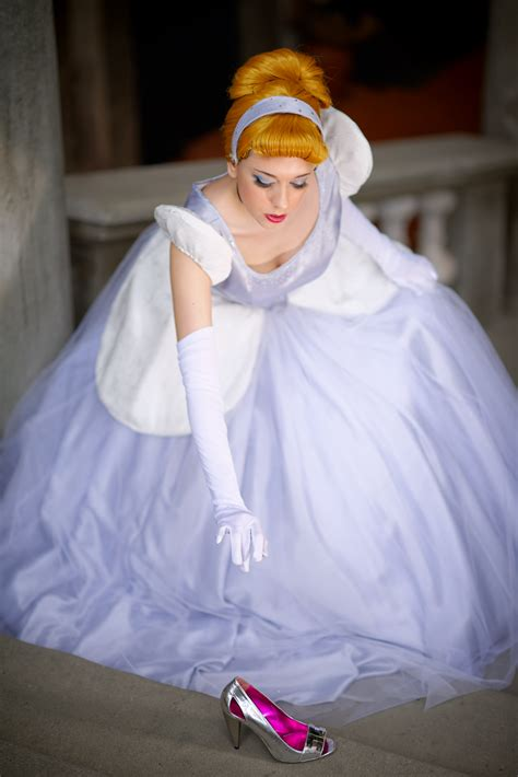 If you decided to make a Cinderella cosplay, which of her