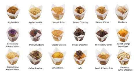 PACK OF MUFFINS – AVAILABLE IN 18 FLAVORS - Bakers Harvest